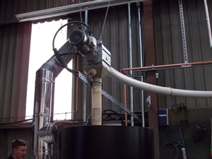 Picture of Biomass Wood Pellet Conveyors